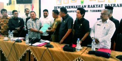 Bupati Diajukan Hak Interpelasi Oleh Anggota DPRD Padang Pariaman