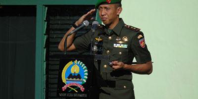 Dandim 0735 Surakarta Pimpin Sertijab Danramil dan Perwira Staf Kodim