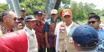 Ganjar Pranowo Ajak Seluruh Komponen Di Brebes Bersinergi Tangani Dan Rawat Tanggul Sungai Babakan