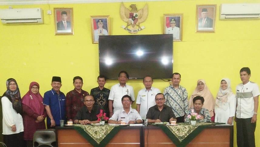 Komisi IV DPRD Kabupaten Agam Kunker, Tentang Iuran BPJS ke Dinas Sosial