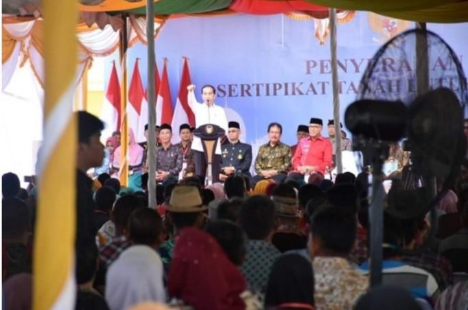 Presiden Jokowi Harapkan Penggunaan Anggaran Aceh Bermanfaat Untuk Rakyat