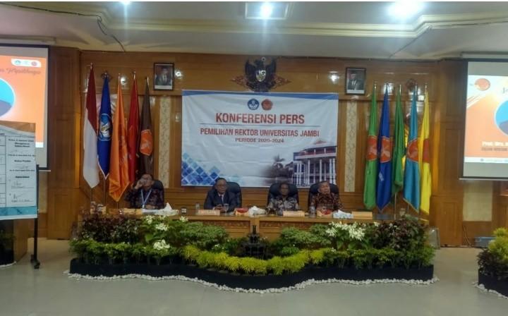 Prof. Sutrisno Terpilih Jadi Rektor UNJA periode 2020 - 2024