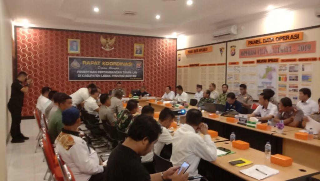 Satgas Gabungan Ops PETI, Kembali Gelar Rapat Koordinasi Lintas Sektoral (3)
