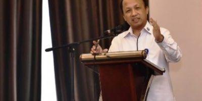 Sekjen Kementerian Desa, Pembangunan Daerah Tertinggal dan Transmigrasi (Kemdes PDTT) Anwar Sanusi