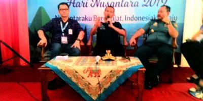 Walikota Pariaman Genius Umar dan Aspol Kasal, Laksamana Muda Didik Setiyono dan Hidayat dari Kementrian PUPR