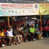 Kelurahan Kebalen dan Forum Kerukunan Kebalen Peduli ( FKKP ) Bersinergi Dalam Giat K3 Setelah Pasca Banjir.