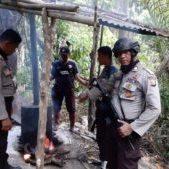 Operasi Pekat Kieraha II 2019 Polres Halsel Temukan Dua Tempat Penyulingan Miras