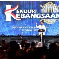 Presiden Joko Widodo Hadiri Kenduri Kebangsaan di Yayasan Sukma Bangsa